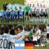 Argentina – Deutschland, quarter finals, South Africa 2010 Puzzle