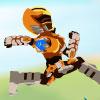 Armor Hero Light Speed Runner