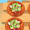Aubergine mini foccacia cook