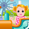 Baby in Theme Park