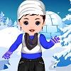 Baby Srna Winter Dressup