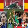 Best goalkeeper Iker Casillas of the Football World Cup 2010 Puzzle