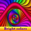 Bright colors 5 Differences