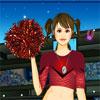 Cheerleader Girl Dress Up