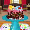 Chocolate Cake Decorating