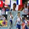 Christophe Lemaitre 100m champion, Barcelona 2010 Puzzle
