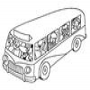 Coloring Buses -1
