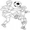 Coloring Football – Soccer – 1