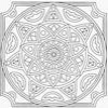 Coloring Mandala -1
