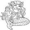 Coloring Mermaids – Sirens -2