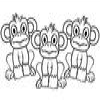 Coloring Monkeys -1