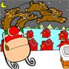 Coloring Santa's Reindeers