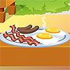 Cooking Breakfast in Nature