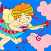 Cupid the Love Giver Coloring
