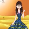 Desert girl dressup
