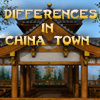 Differences in China Town (Spot the Differences Game)
