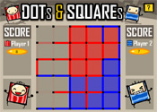 Dots & Squares 5x5 Single Player