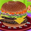 Double Cheeseburger Decorator