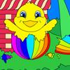 Easter Basket Coloring