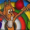 Easter Bunny Knife Toss