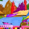 Fantasy Coloring Game