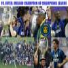 FC. Inter. Milano Champion of Champions League 2009-2010 Puzzle