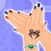 Finger Nail Decoration