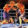 Fire Boxing Match