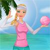 Girl Beach Volleyball