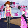 Glitzy Party Wear Dress Up