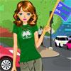 Go Green Girl Dress Up