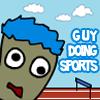 Guy Doing Sports