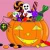 Halloween Treats Coloring