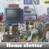 Home clutter. Find objects