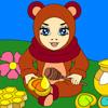 Honey Bear Coloring
