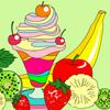 Ice-Cream Sundae Coloring