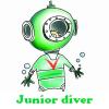 Junior diver  5 Differences