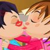 Katy and Karl First Kiss