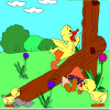 Kid's coloring: Little equilibrist