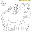 Kid's coloring: The Promenade