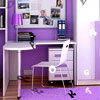 kids Lavender Study Room Hidden Alphabets