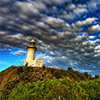 Lighthouse on a Hill Jigsaw Puzzle