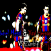 lionel messi  & Xavi VS Zombie