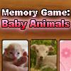 Memory Game: Baby Animals