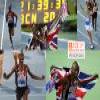 Mo Farah 10.000 m champion, Barcelona 2010 Puzzle