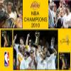 NBA Champions 2010 – Los Angeles Lakers – Puzzle