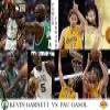 NBA Finals 2009-10, Power Forward, Kevin Garnett (Celtics) vs Pau Gasol (Lakers) Puzzles