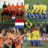 Nederland – Brasil, quarter finals, South Africa 2010 Puzzle