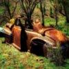 Old Rusty Car Slider