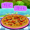 Pizza with Fish Cooking